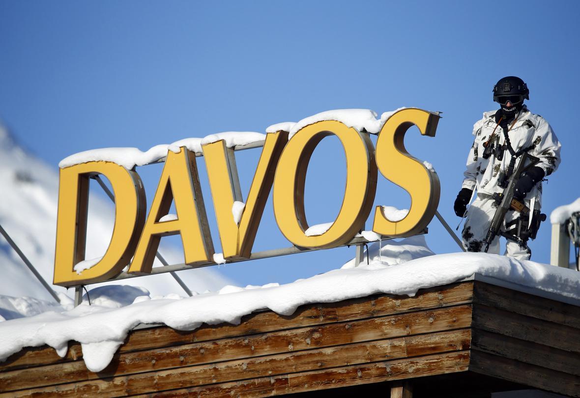 Světové ekonomické fórum v Davosu v průběhu let