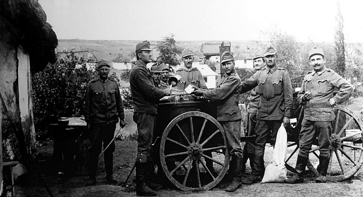 Velká válka očima Antonína Kurky