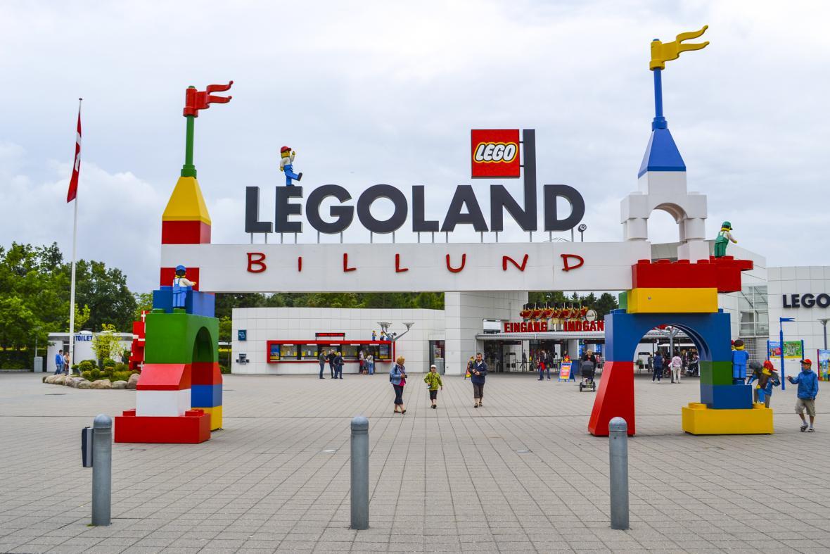Legoland v dánském městě Billundu. Firma LEGO oslaví 28. ledna 2017 čtyřicet let.