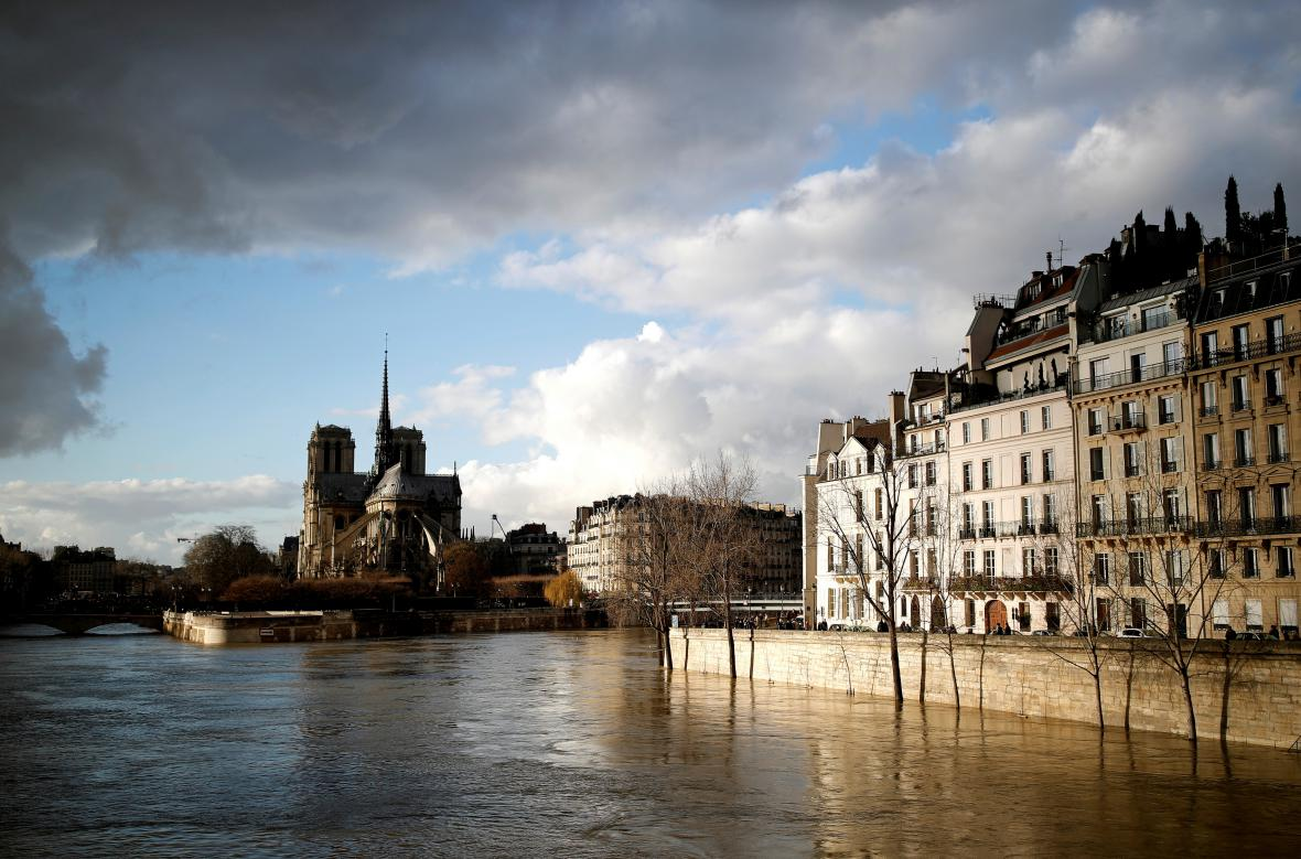 Povodně ve Francii