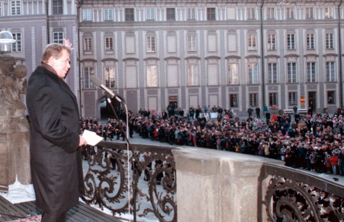 Václav Havel - 25 let od nastoupení do funkce prezidenta ČR