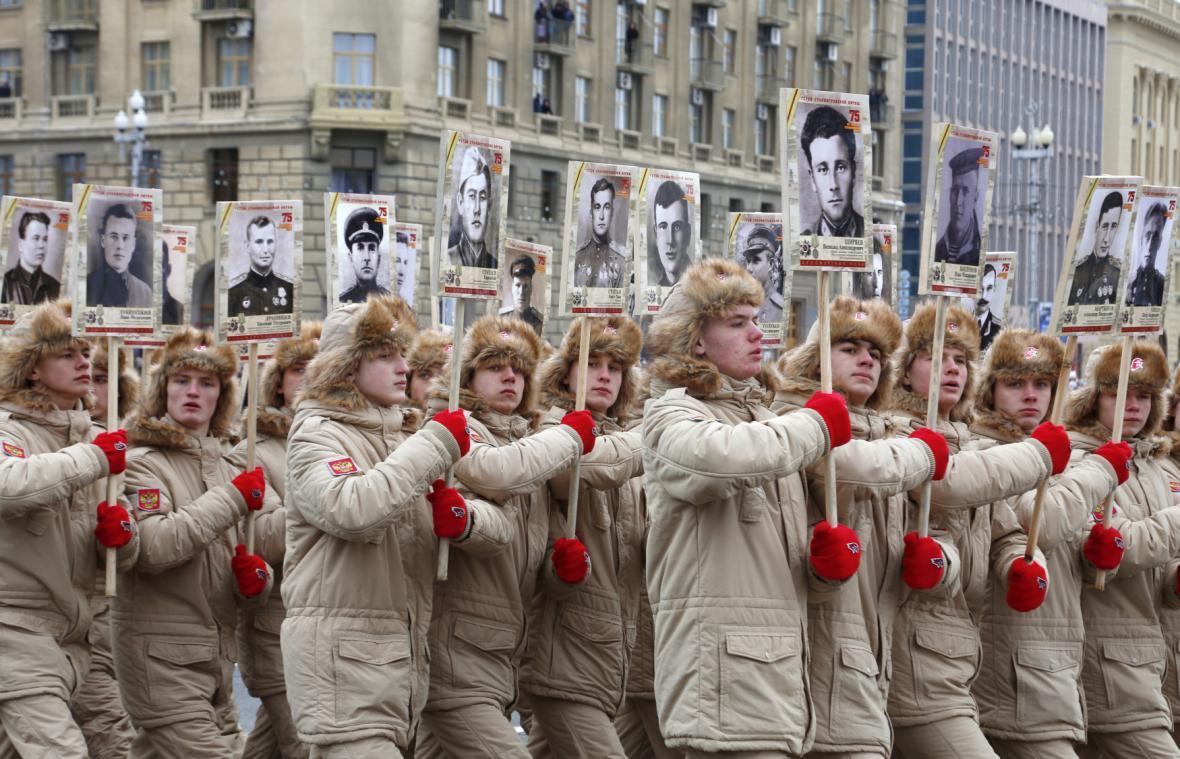 Oslavy 75. výročí porážky Němců u Stalingradu