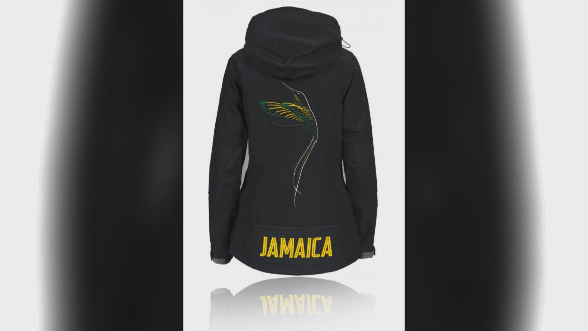 Design kombinéz jamajských bobistek