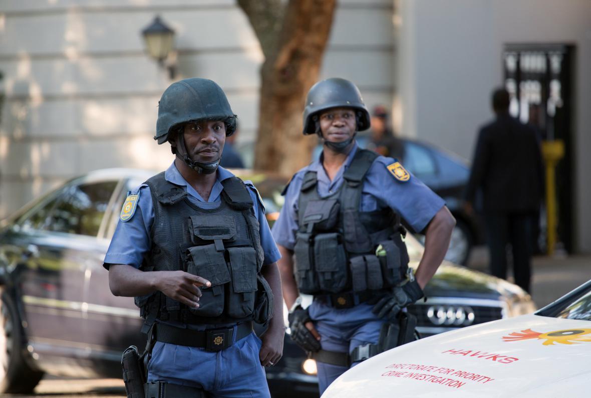 Jihoafrická policie zasahuje proti rodině Guptů