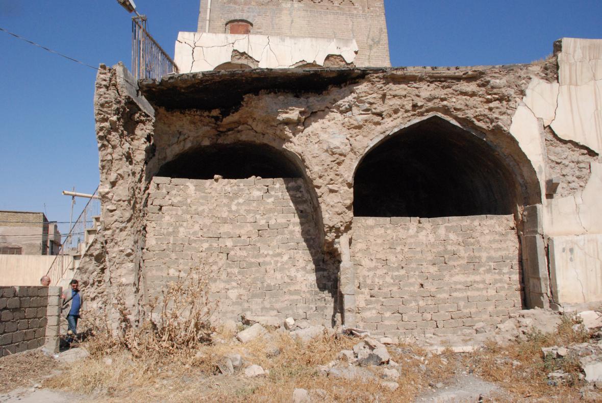 Snímky, ze kterých vycházejí čeští experti při rekonstrukci Mosulu