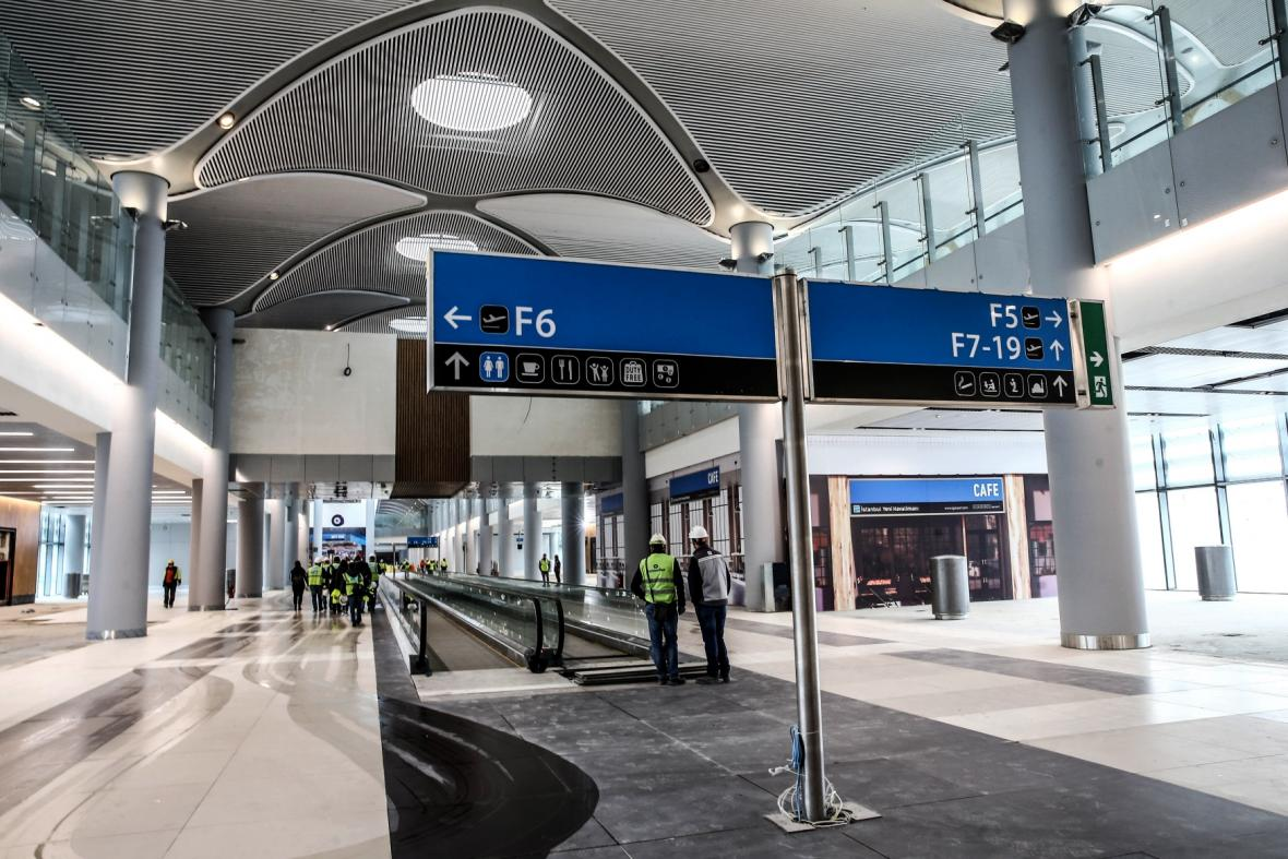 Jak vzniká třetí istanbulské letiště