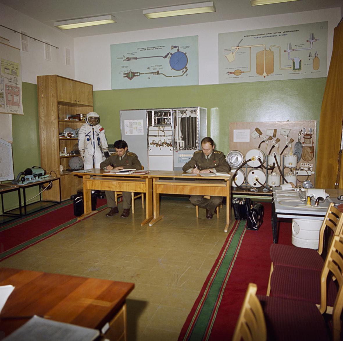 Vladimír Remek a start rakety Sojuz 28