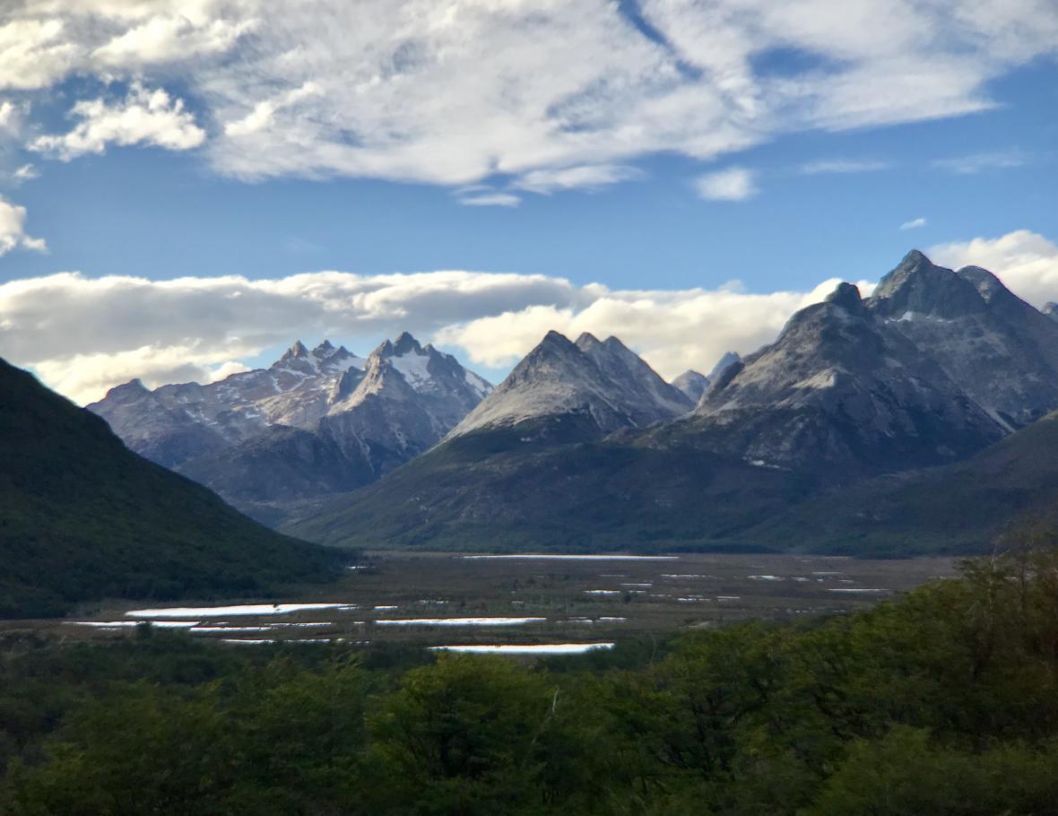 Ohňová země a Ushuaia