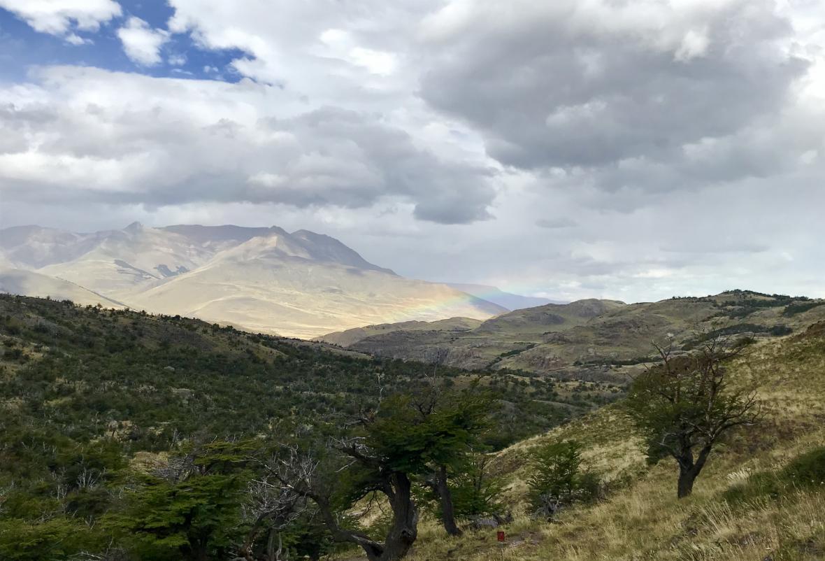 Túry v okolí města El Chaltén a hory Fitz Roy