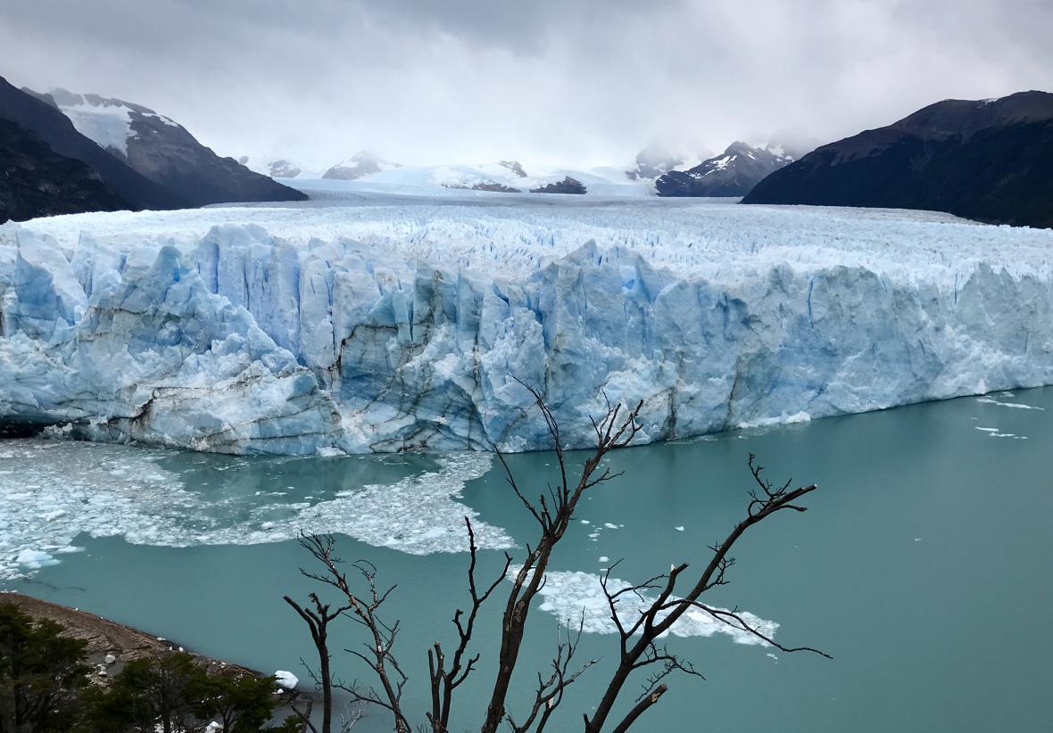 Národní park Los Glacieras a ledovec Perito Moreno
