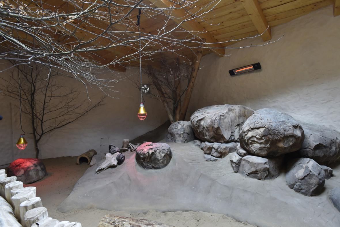Nový pavilon Kalahari zaměřený na africkou faunu