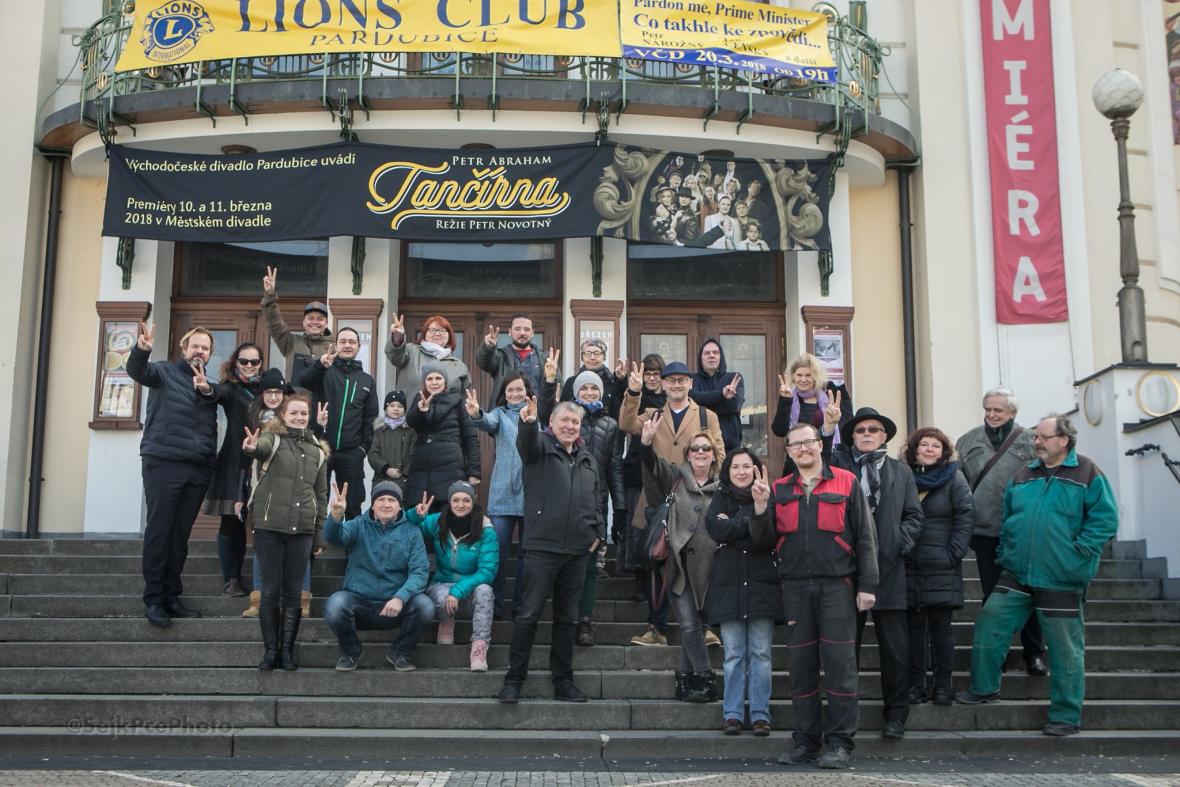 Stávkovalo i Východočeské divadlo Pardubice