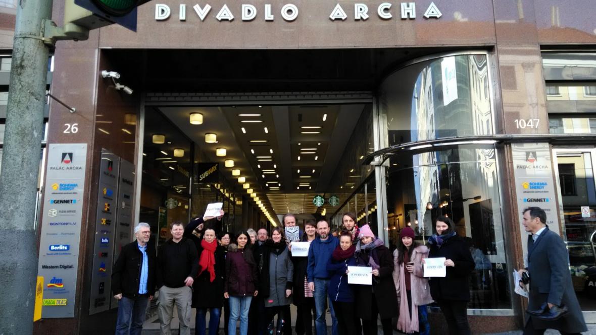 Divadlo Archa podpořilo studenty