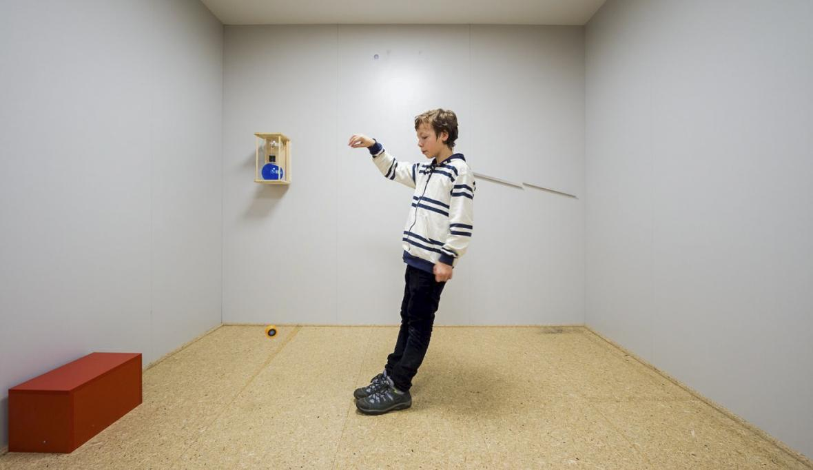Výstava Klamárium v ostravském Světě techniky