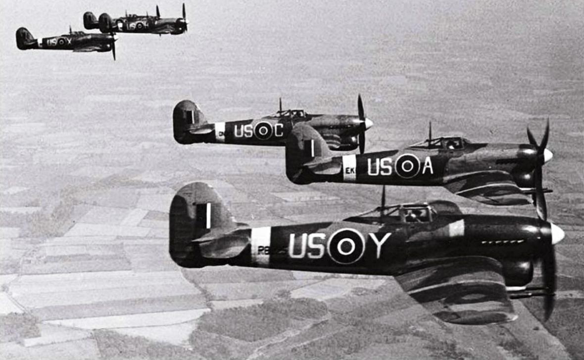 Britské Královské letectvo (Royal Air Force) je nejstarší nezávislé vojenské letectvo na světě.
