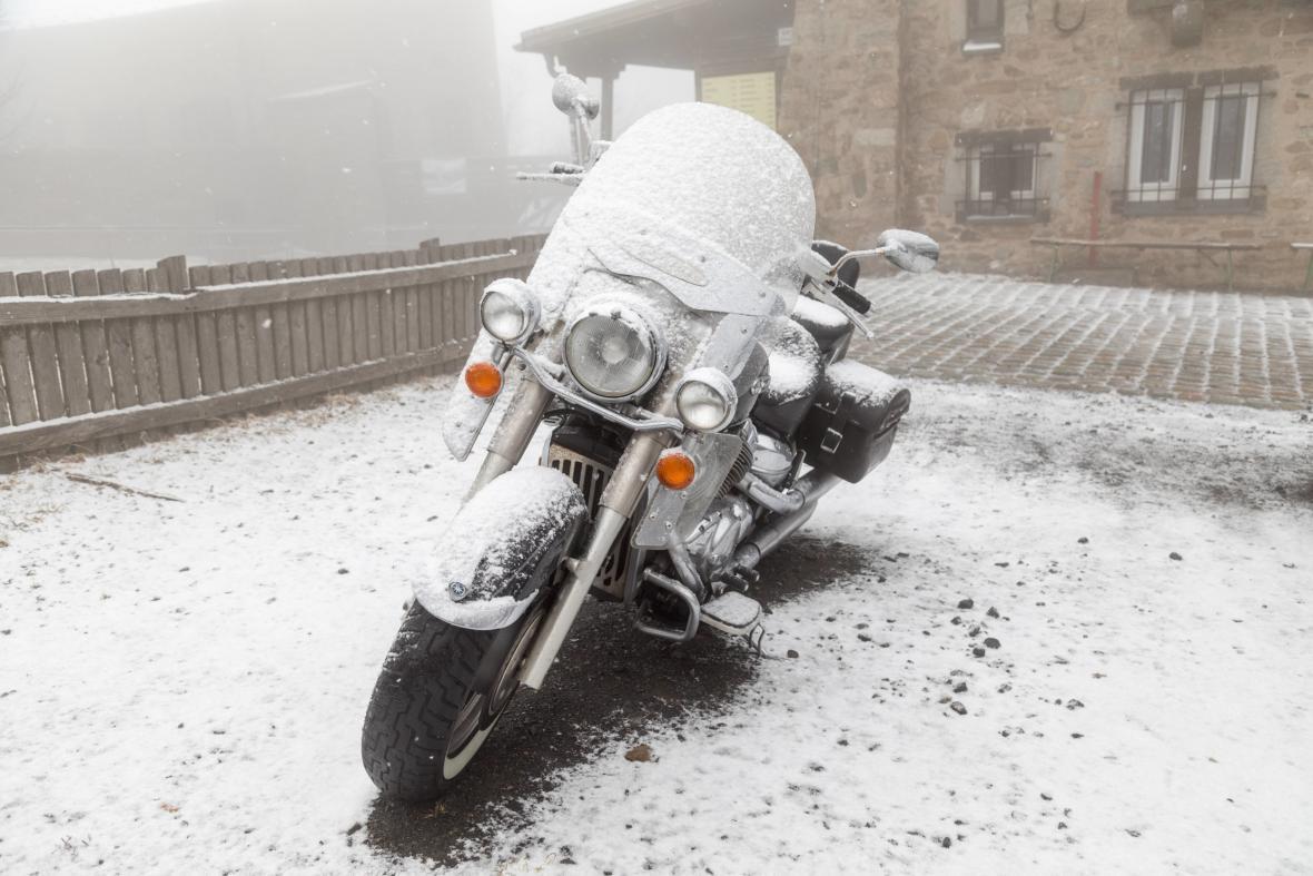 Severovýchod Německa zasypal o velikonoční neděli sníh