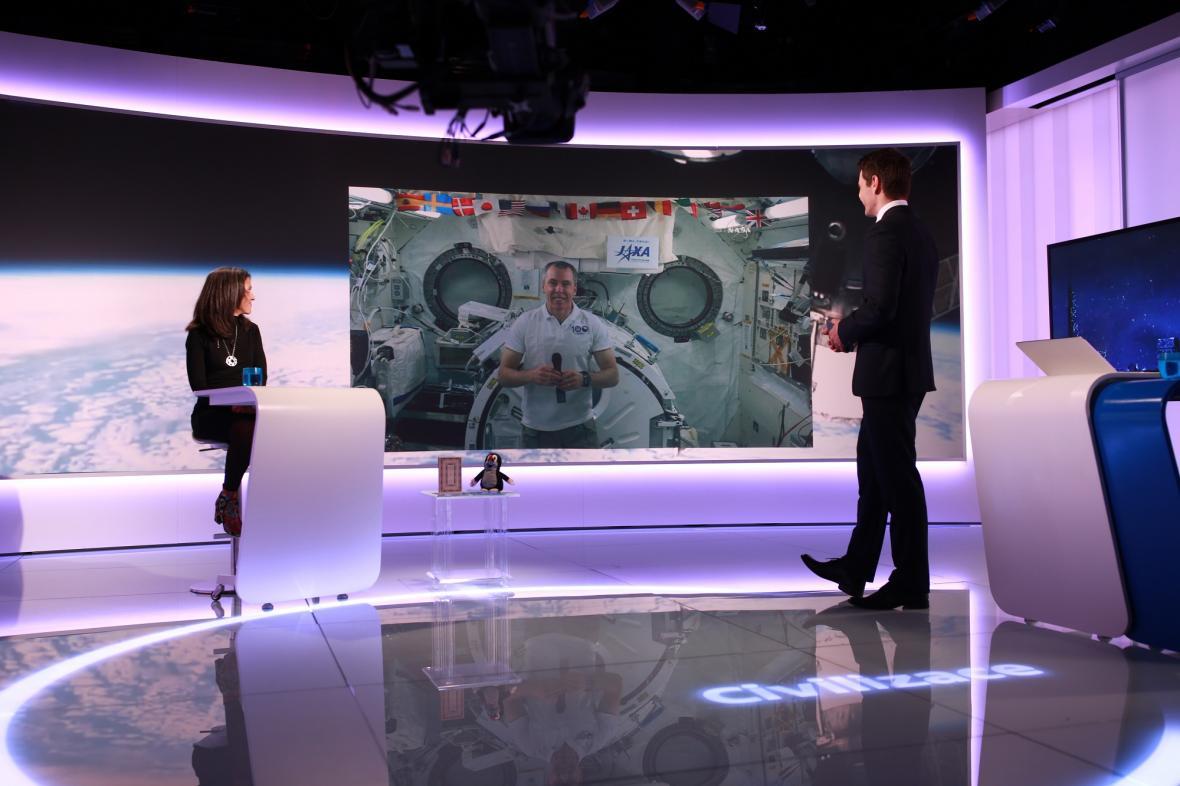 Rozhovor Daniela Stacha s Andrewem Feustelem na ISS