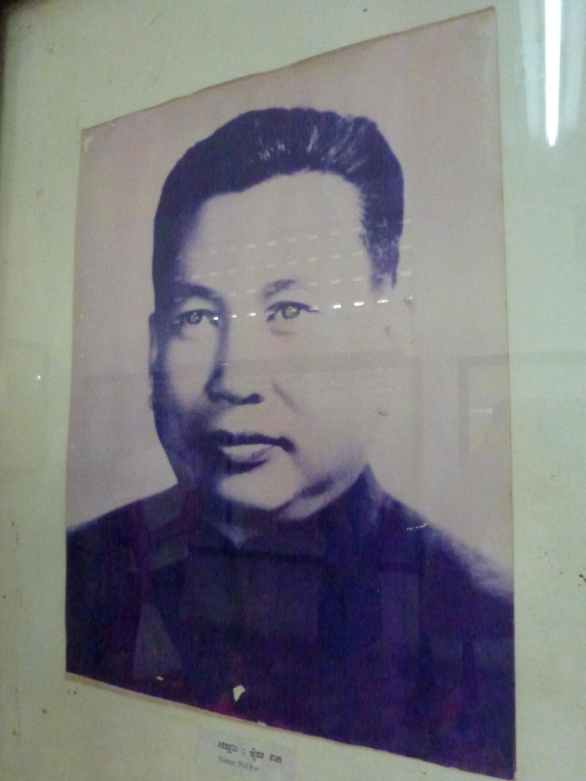 Snímek Pol Pota