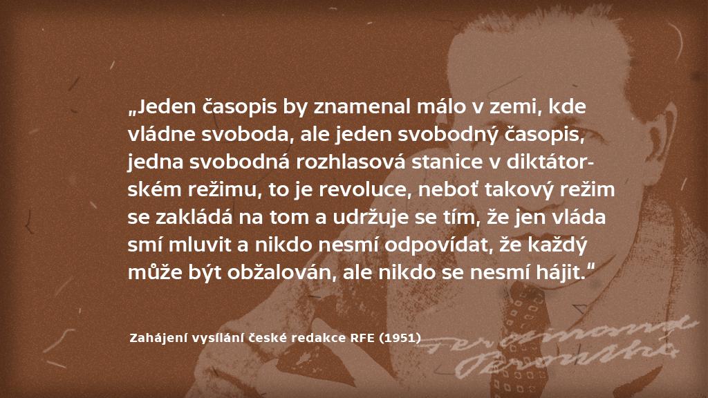 Citáty Ferdinanda Peroutky