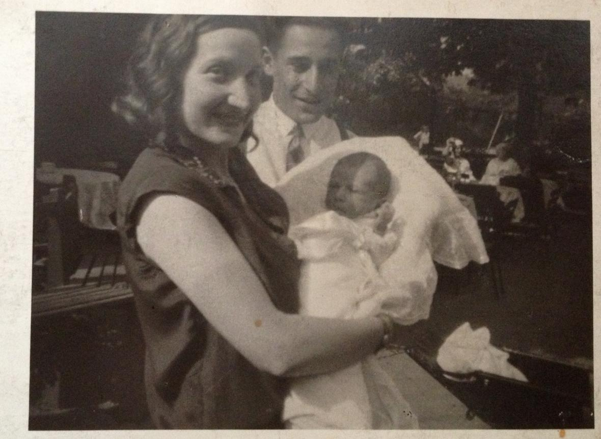 Ruth Drahota s rodiči