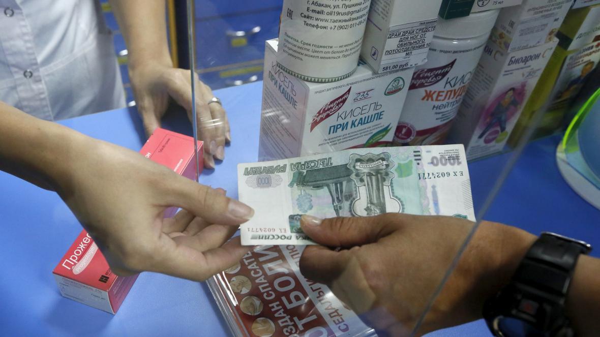 Prodej léků v Rusku