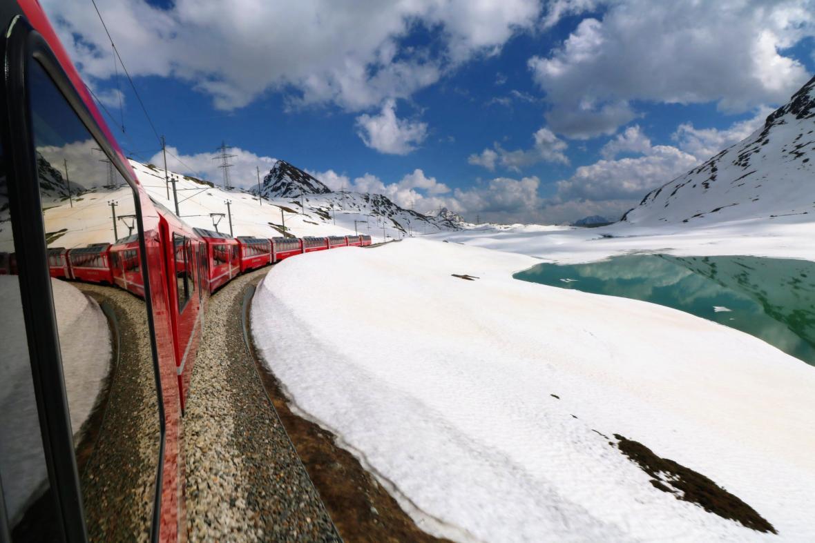 Cesta vlakem Brenina Express