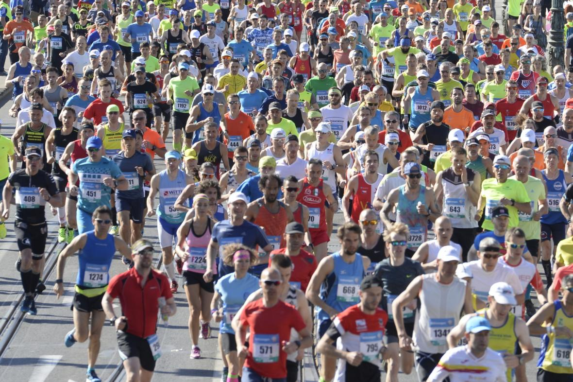 Pražský maraton 2018