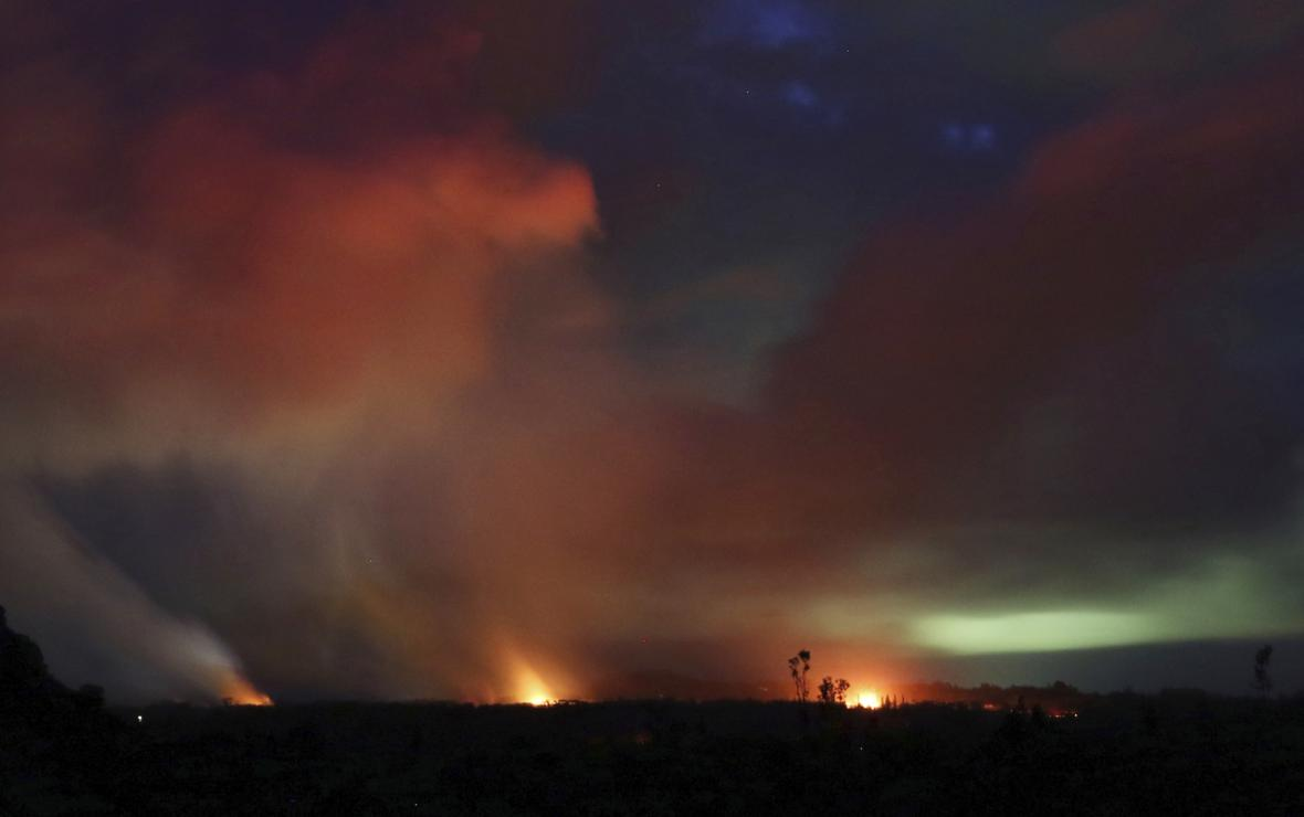 Sopečná aktivita trápí ostrov Havaj
