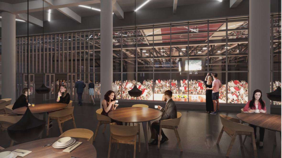 Vizualizace nového pavilonu D na brněnském výstavišti