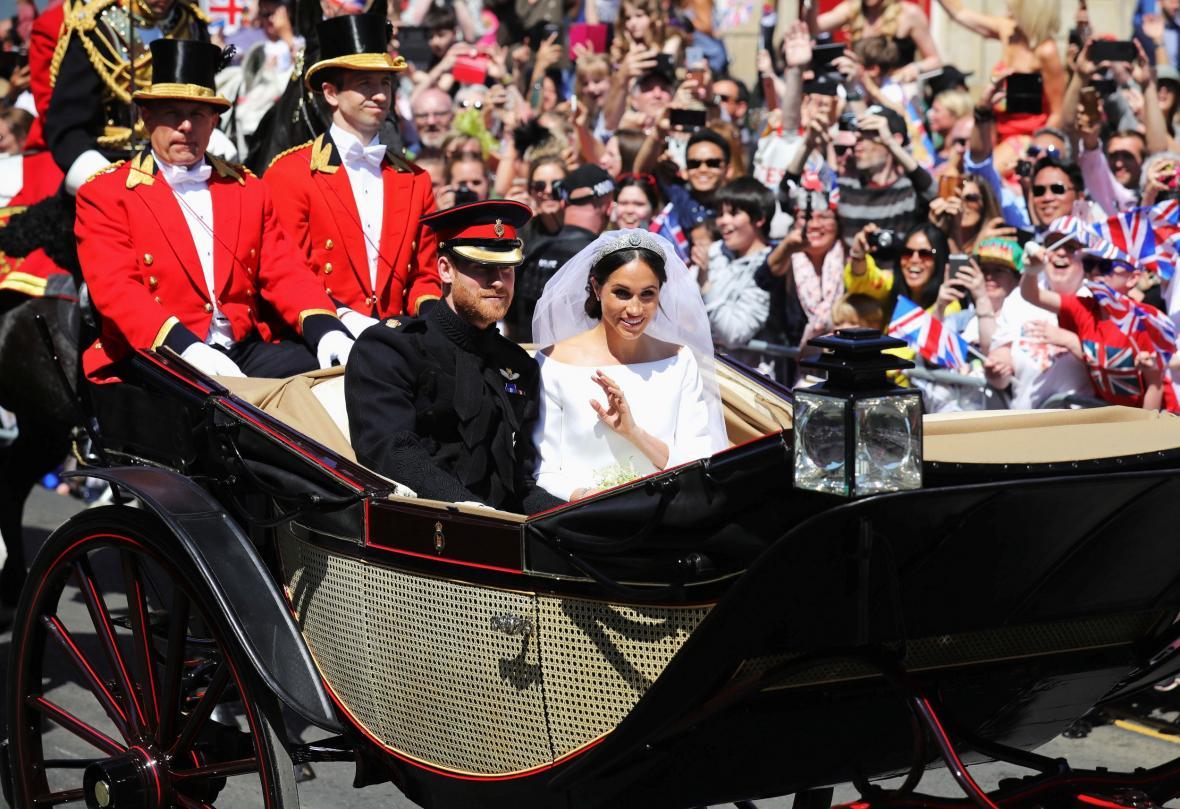 Královská svatba Harryho a Meghan