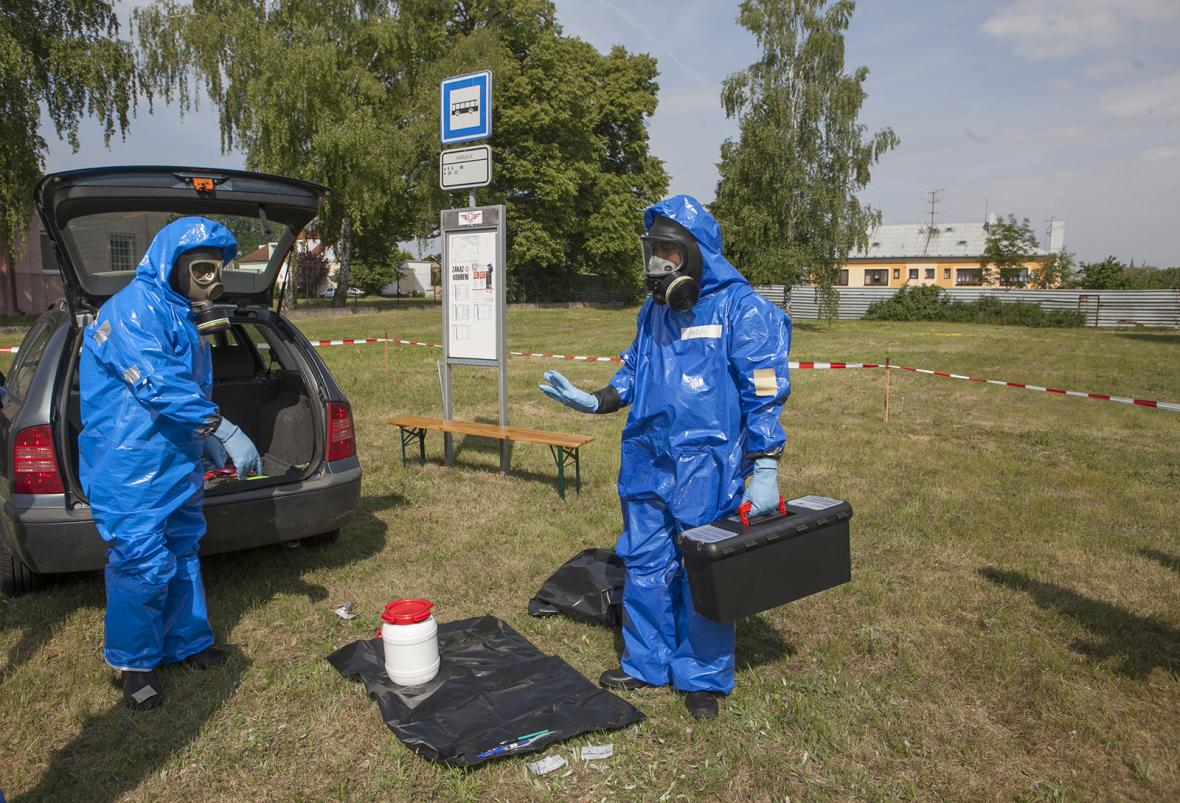 Mezinárodní výcvik ochrany proti chemickým zbraním určený pro specialisty-instruktory