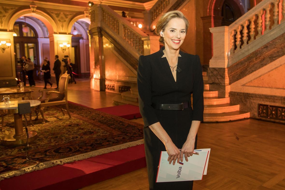 Světlana Witovská před prezidentským duelem