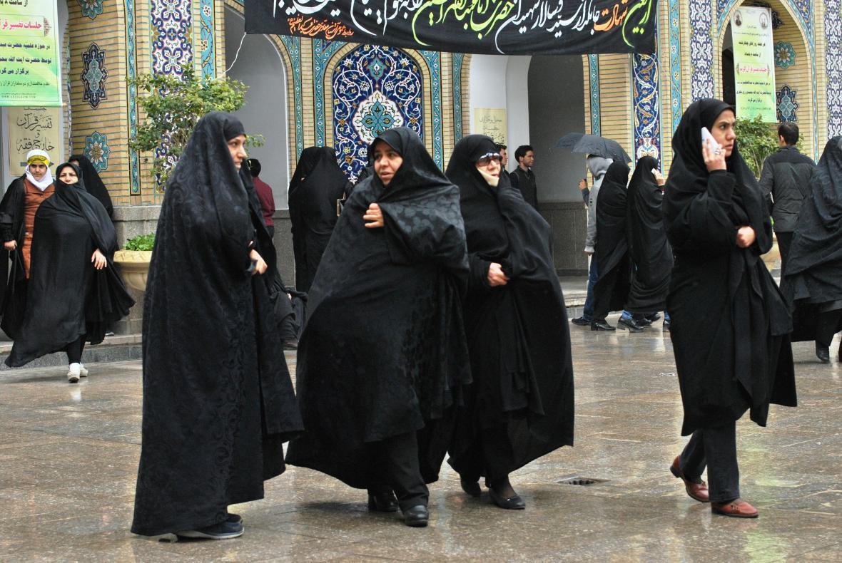 Rozmanitá íránská společnost