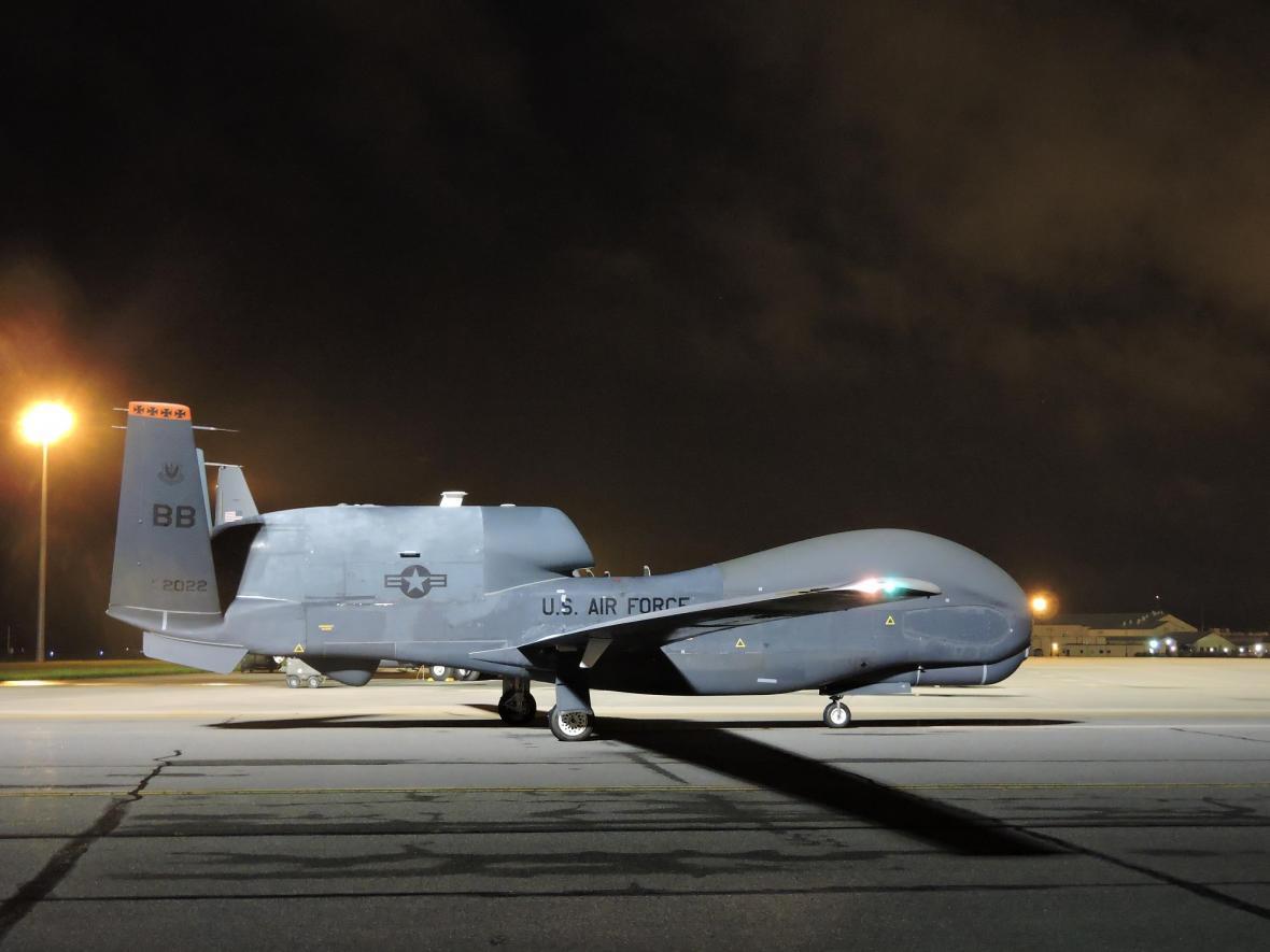 Největší dron současnosti Northrop Grumman RQ-4 Global Hawk