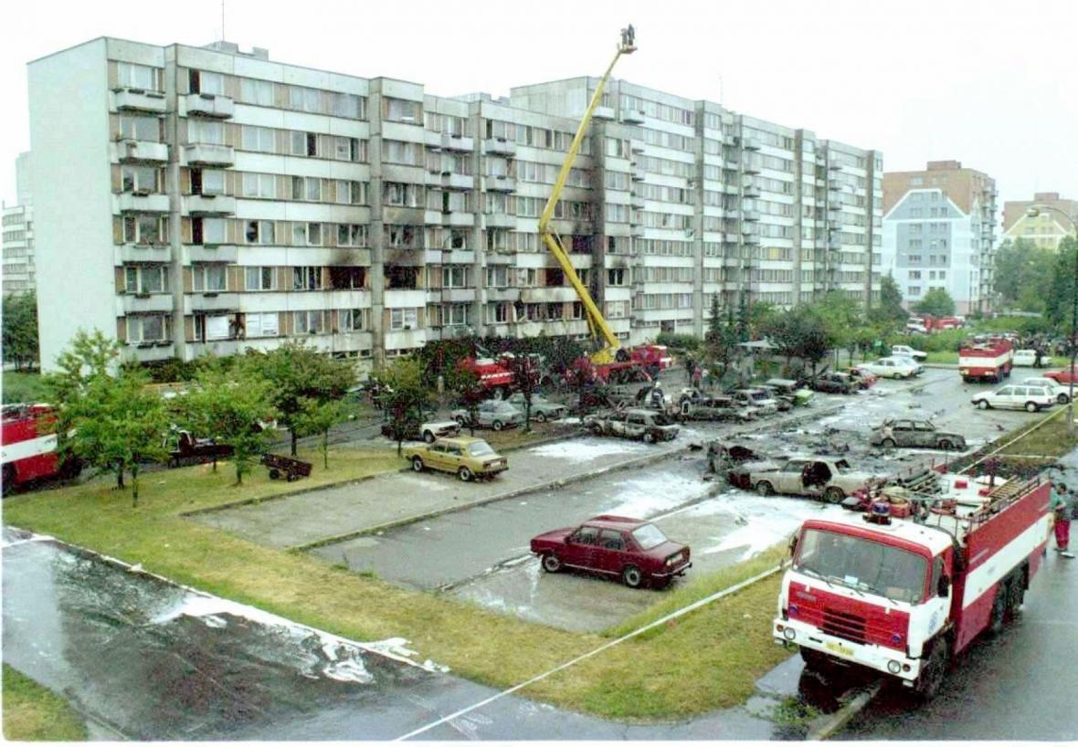 Srážka dvou letadel Mig-21 u Českých Budějovic v roce 1998