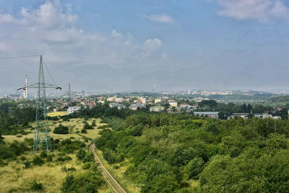 Rozhledna Doubravka na Praze 14