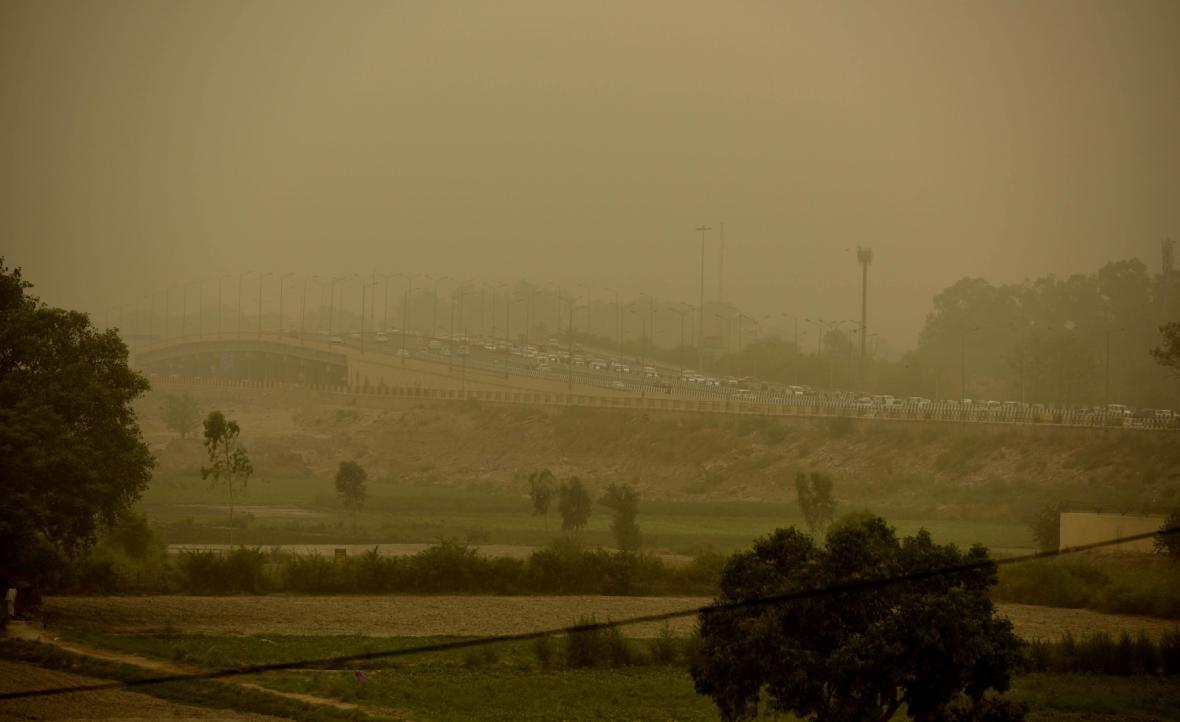 Znečištění v Dillí