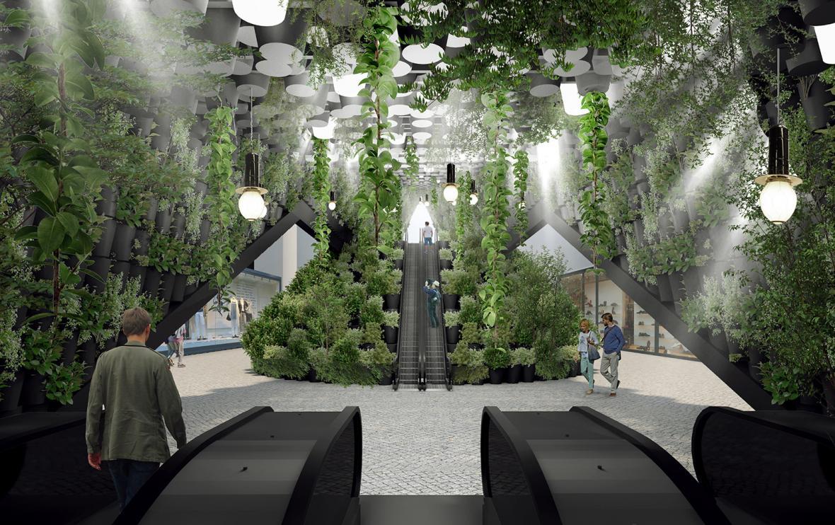 Koncepty pro vestibuly metra 21. století