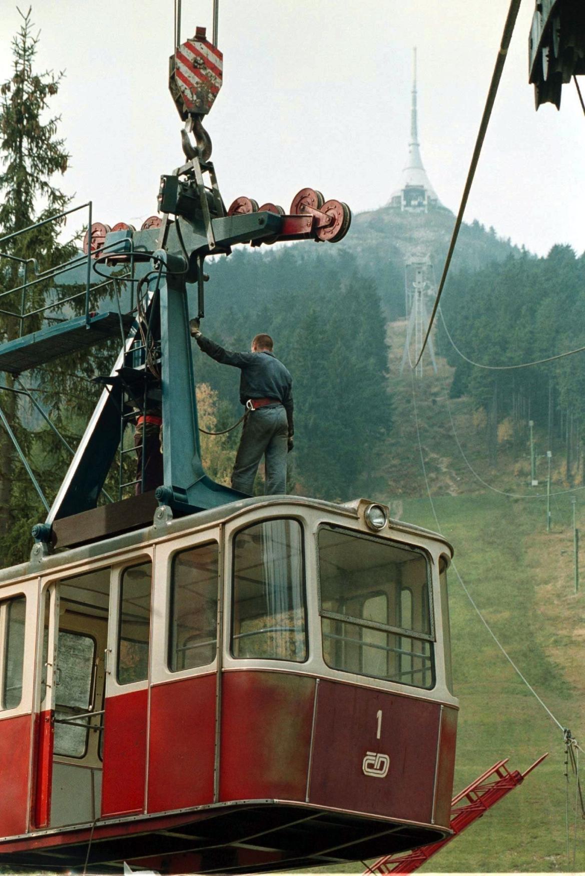 Kabinová lanovka na Ještěd
