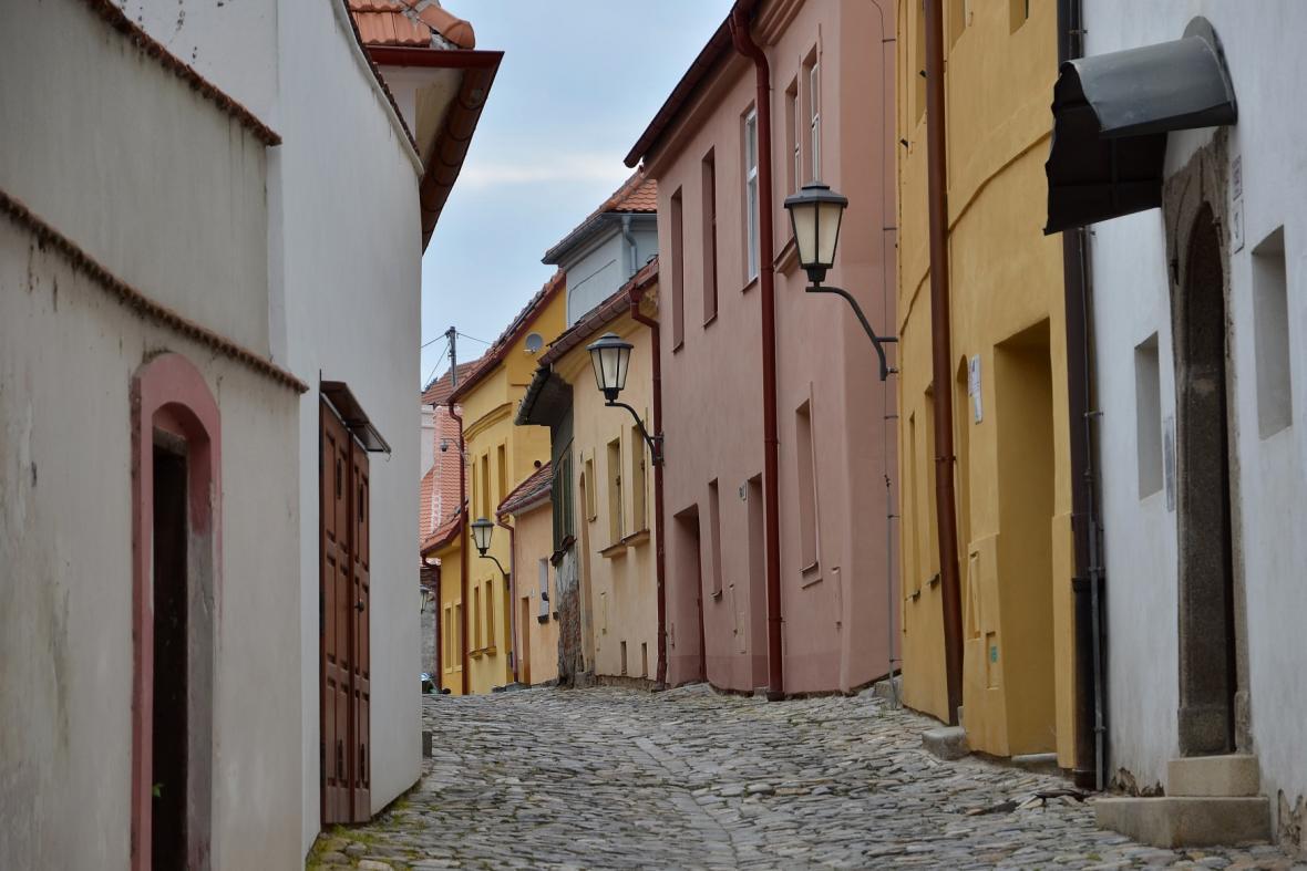 Židovská čtvrť v Třebíči dnes