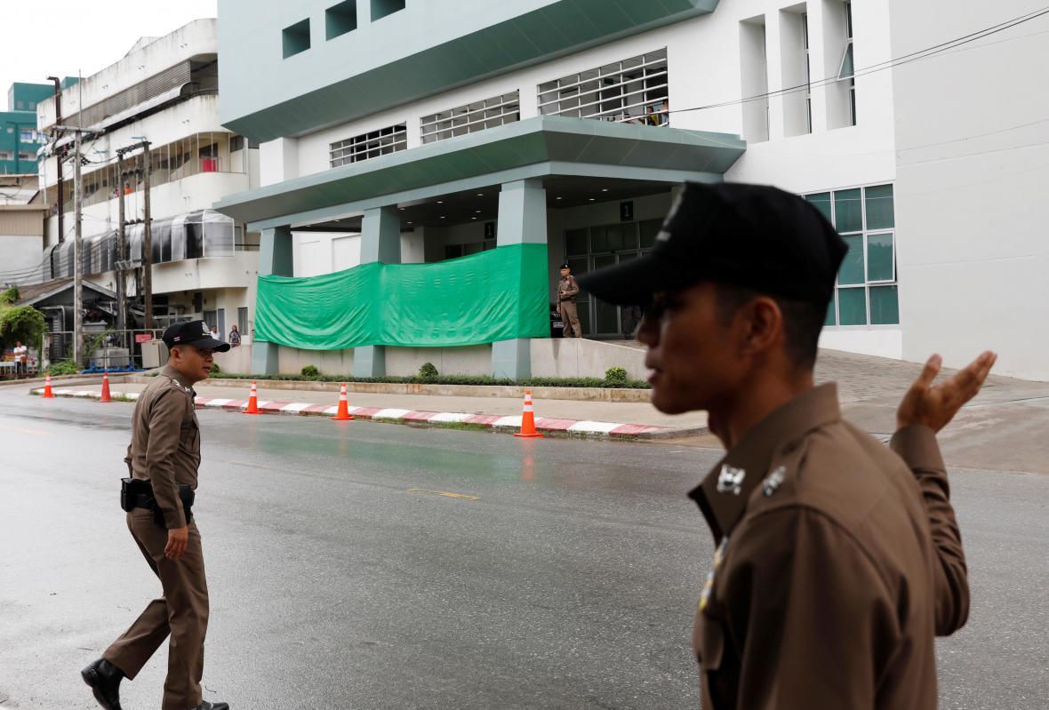 Záchrana thajských chlapců ve fotografiích