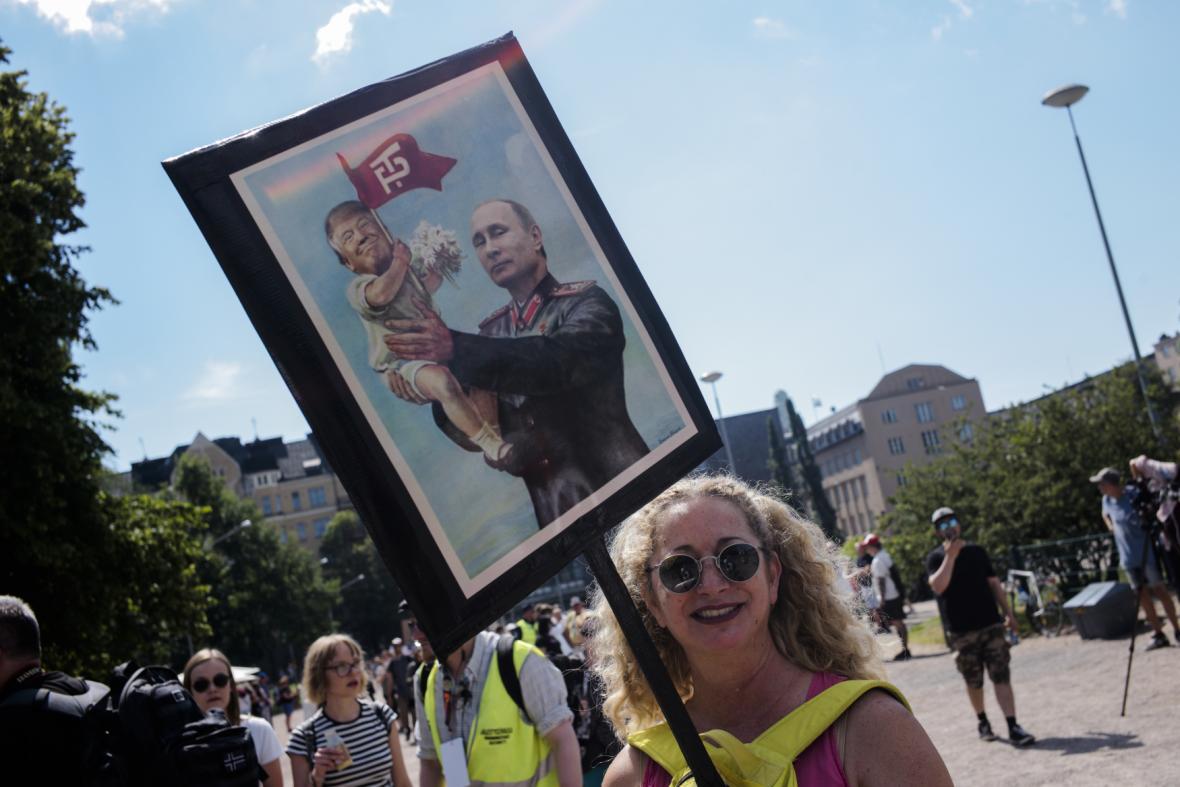Demonstrace v Hesinkách