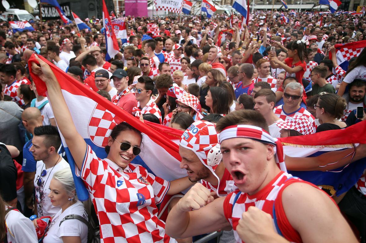Francie a Chorvatsko slaví medaile z MS ve fotbale