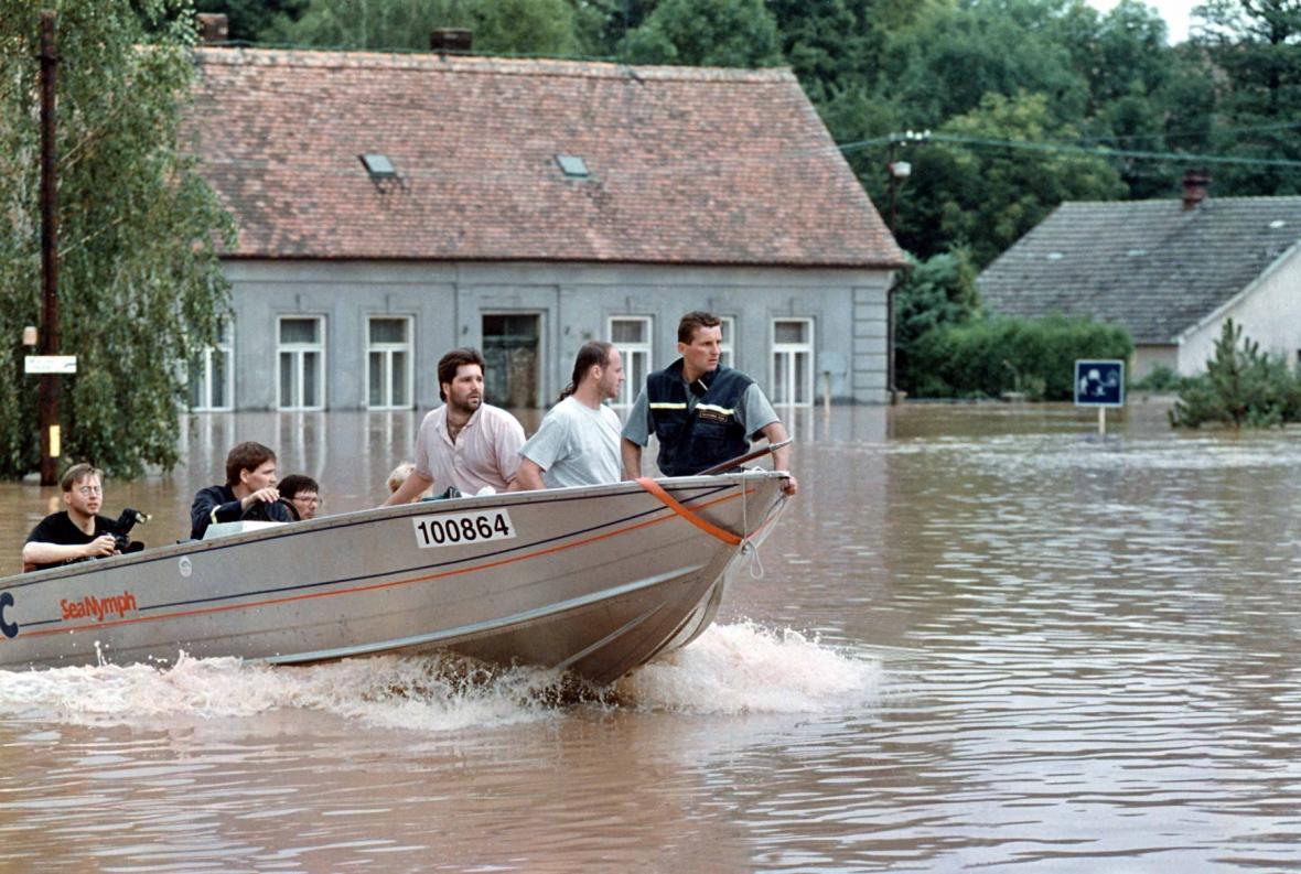 Povodně na Rychnovsku v roce 1998