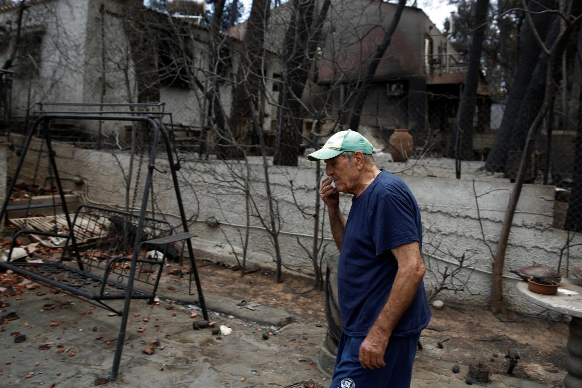 Zkáza v řecké obci Mati