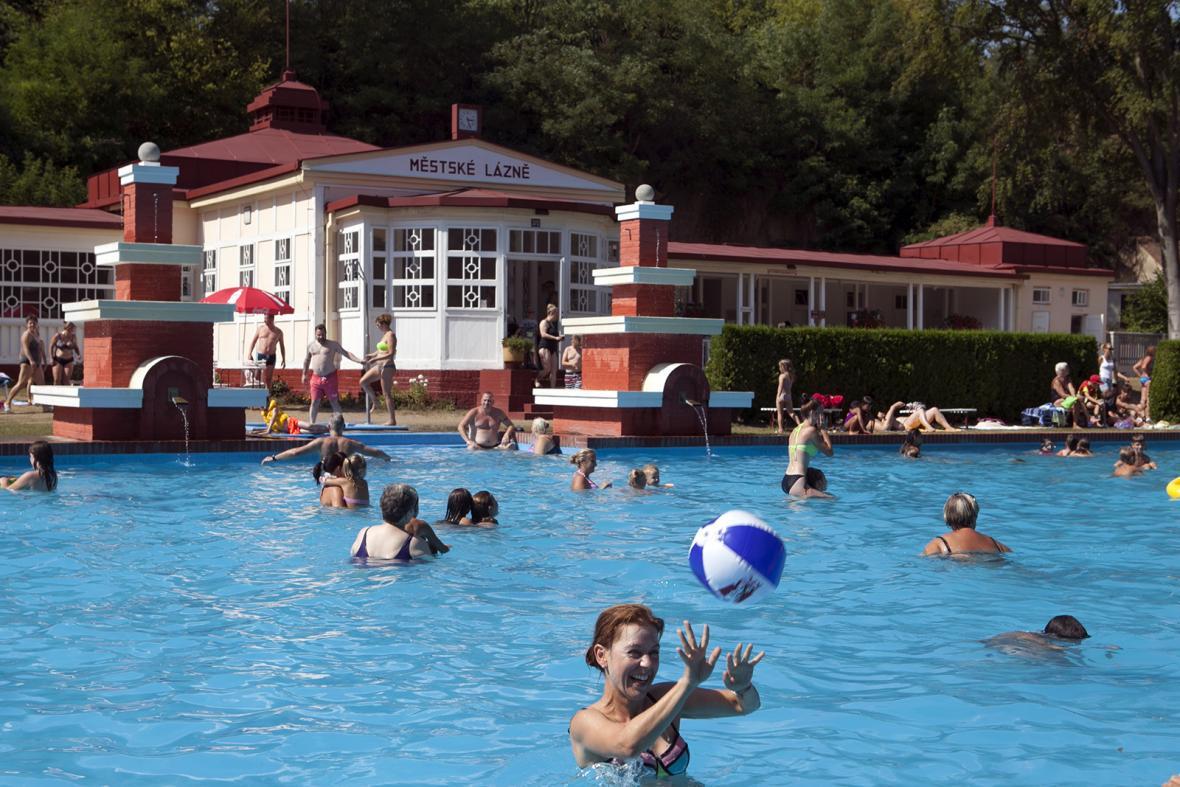 Městské lázně ve Mšeně