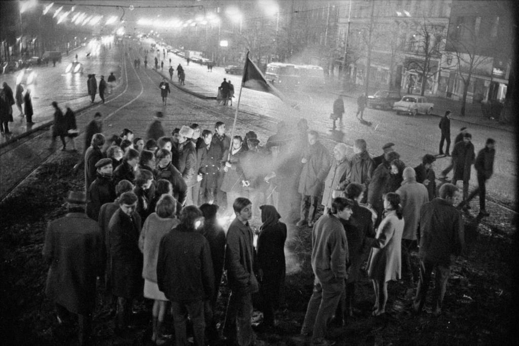 Z výstavy Sovětská invaze - srpen 1968 na Staroměstské radnici