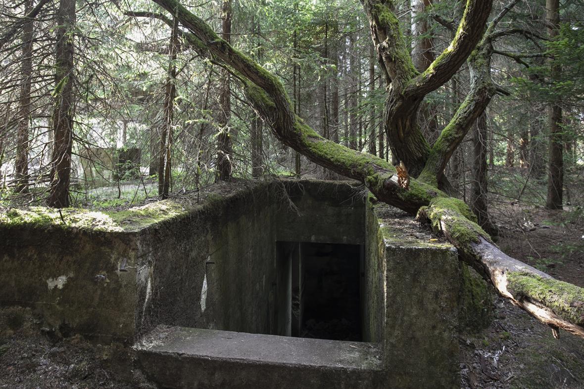 Bývalý cínový důl Rolava a zajatecký tábor Sauersack