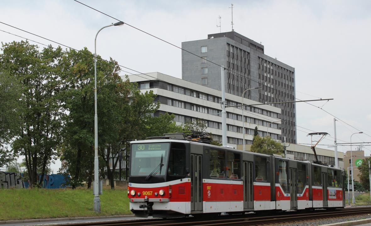 Pražská tramvaj