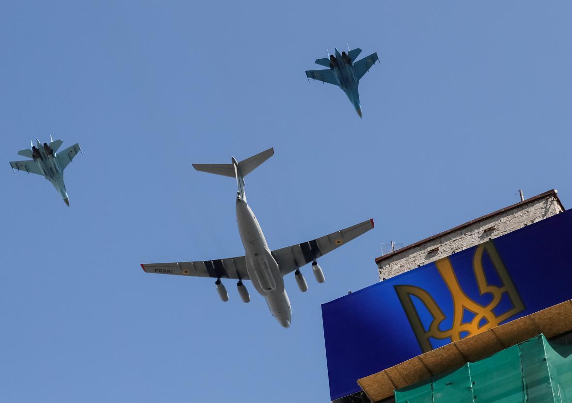 Letecká součást přehlídky